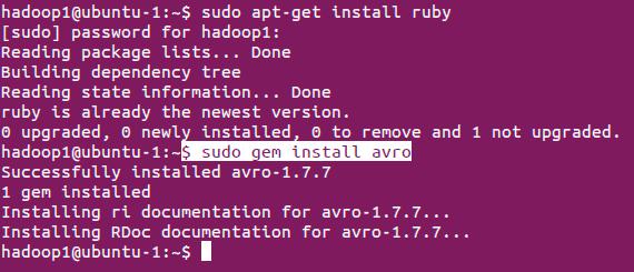 Ruby Avro Installation